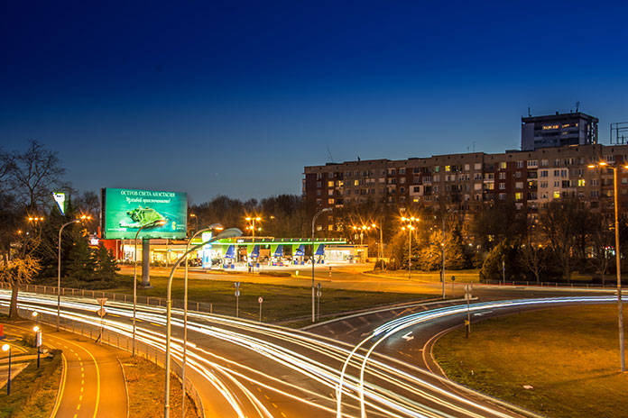 Reklama zewnętrzna w przestrzeni miejskiej