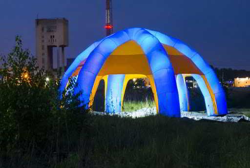 Namiot jako narzędzie reklamowe